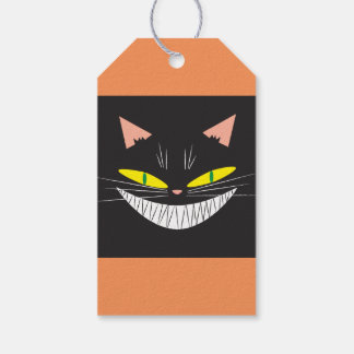 Halloween Cat Gift Tags