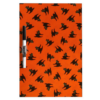 Halloween Cat Pattern Dry Erase Boards
