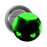 Halloween Cat Pinback Button
