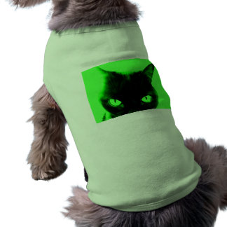 Halloween Cat Sleeveless Dog Shirt