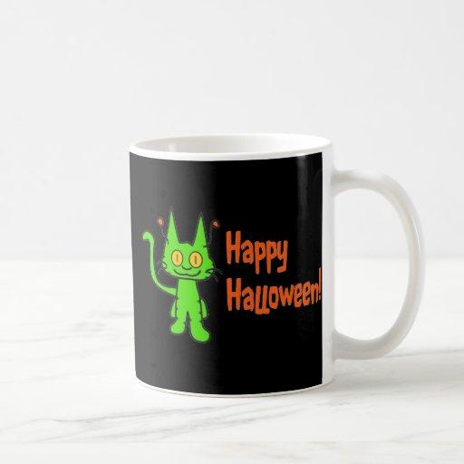 Halloween Cat Whishes Coffee Mug