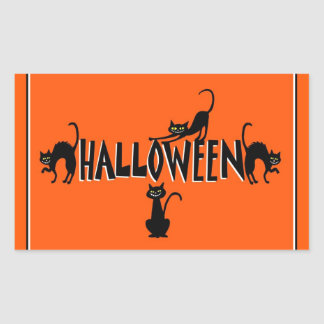 Halloween Cats Sticker
