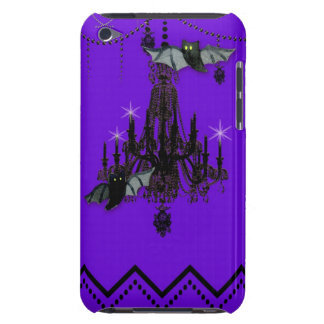 Halloween Chandelier Fall Bat Chevron Zig Zag Barely There iPod Cases