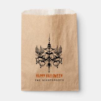 Halloween Chandelier Favor Treat Bags