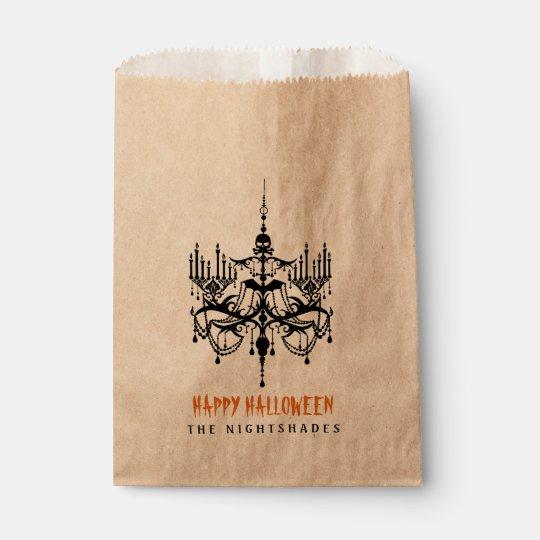 Halloween Chandelier Favour Treat Bags