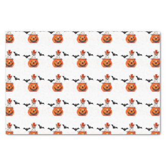 "Halloween Chihuahua dog 10"" X 15"" Tissue Paper"