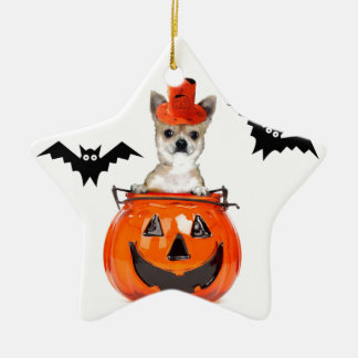 Halloween Chihuahua Dog Christmas Ornament