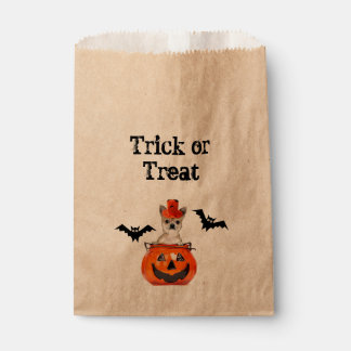 Halloween Chihuahua dog Favour Bags