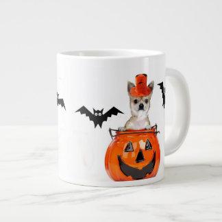 Halloween Chihuahua dog Jumbo Mug