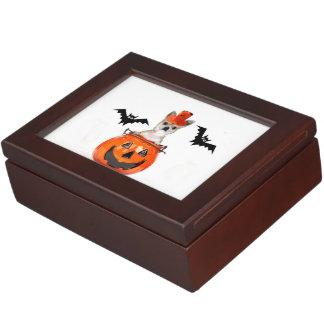 Halloween Chihuahua dog Keepsake Box