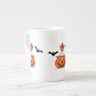 Halloween Chihuahua dog Bone China Mug