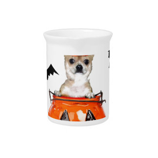 Halloween Chihuahua Dog Pitchers
