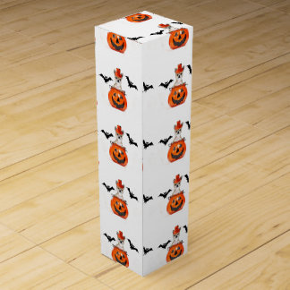 Halloween Chihuahua dog Wine Boxes