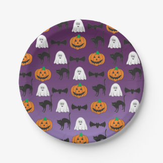 Halloween - Child - Family - Fun - Paper Plate