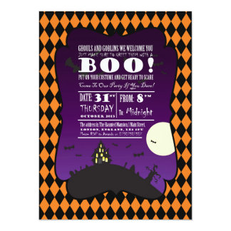 Halloween - Child - Family - Invitation