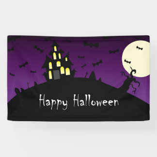 Halloween - Child - Friendly - Haunted House - Banner