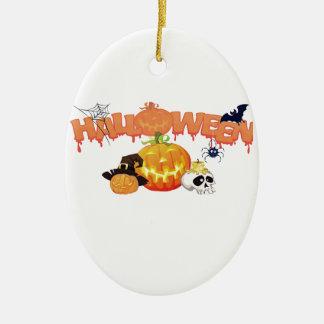 Halloween Christmas Ornament
