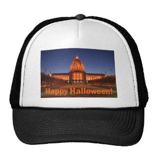 Halloween City Hall Mesh Hat