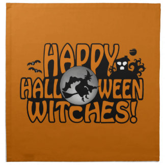 Halloween cloth napkins