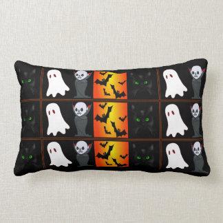 Halloween Collage Lumbar Pillow