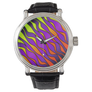 HALLOWEEN COLORED STRIPES WATCH