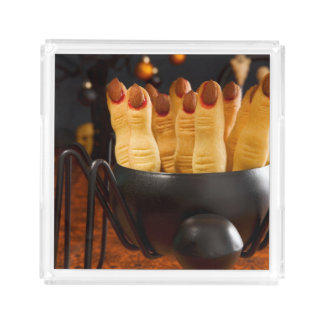 Halloween Cookies - Witch'S Fingers Acrylic Tray