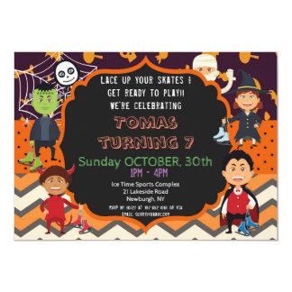 HALLOWEEN COSTUME BIRTHDAY PARTY INVITATION | KIDS