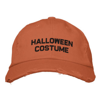 Halloween Costume Embroidered Hat