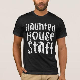 Halloween Costume Haunted House Staff T-Shirt