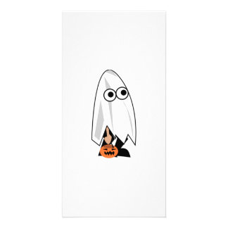 Halloween Costume Photo Greeting Card