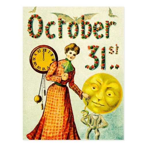 Halloween Countdown Post Card