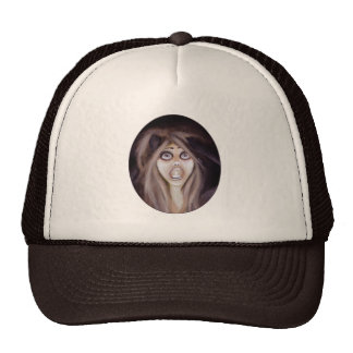 HALLOWEEN CRAFT MESH HAT