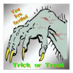 Halloween Creepy Hand Halloween Invitation