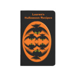 Halloween Crows Customisable Recipe Journal