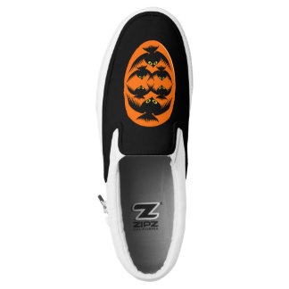 Halloween Crows Slip On Shoes