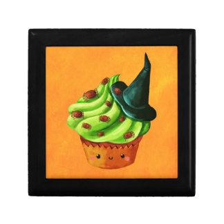 Halloween Cupcake full of tiny spiders Gift Box