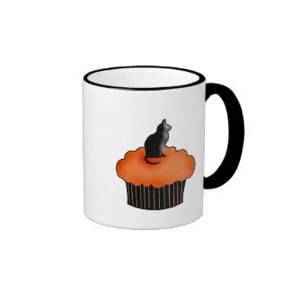 Halloween Cupcake Ringer Mug