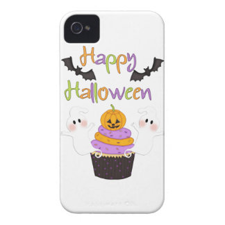 Halloween Cupcake Sign iPhone 4 Case-Mate Case