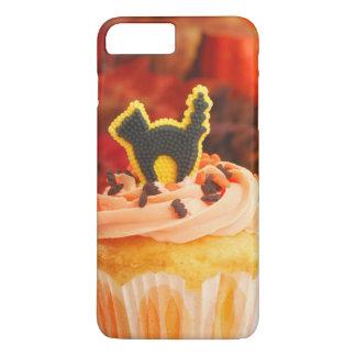 Halloween Cupcake With Fall Foliage iPhone 7 Plus Case