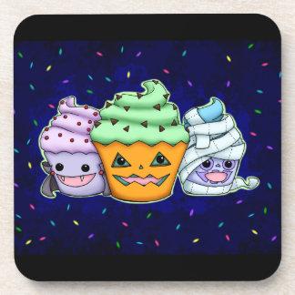 Halloween Cupcakes Coaster
