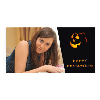 Halloween Custom Photo Card
