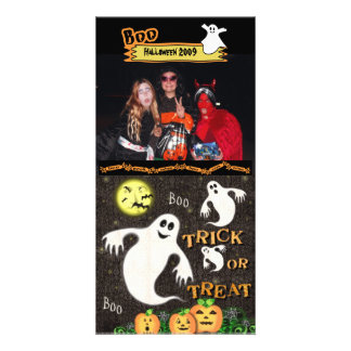 Halloween Custom Photo Card