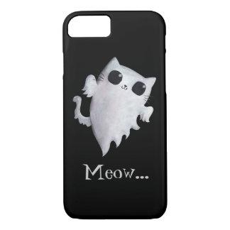 Halloween cute ghost cat iPhone 8/7 case