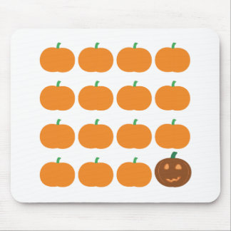 Halloween Cute Pumpkin Patch Mouse Pad