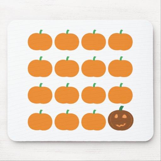 Halloween Cute Pumpkin Patch Mousepad