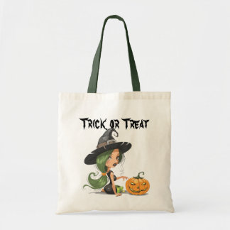 Halloween Cute Witch Bag