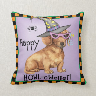 Halloween Dachshund Cushion