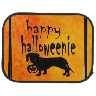 Halloween Dachshund Trick or Treat Car Mat