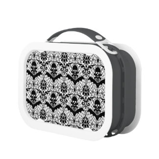 Halloween Damask Lunchboxes
