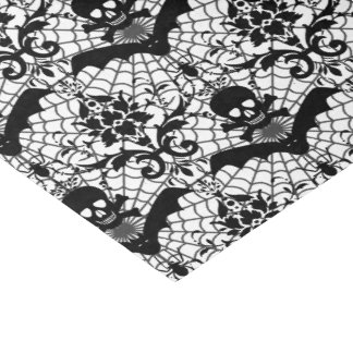 Halloween Damask Tissue Paper